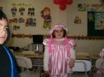 Valentina Castillo.Fiesta disfraces 2009. Colegio Academia Tarapaca. 1º básico A